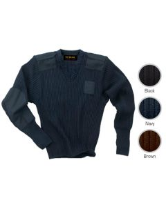 Men's Police Sweater - Hotel Uniforms