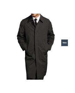 Men's Single Breasted Trench Coat - Bellman Uniforms