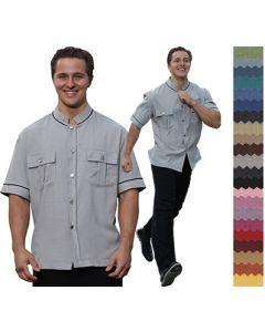 Cusom Bellman Doorman Uniform - Performance Kennedy Shirt - Bellman Uniforms