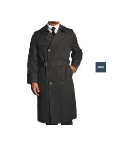 Men's Double Breasted Trench Coat - Bellman Uniforms