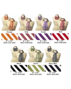Saville Striped Scarves - Hotel Uniforms