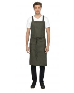 Denver Chef's Cross-Back Bib Apron - Culinarily Uniforms