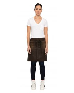 Galveston Half Bistro Apron - Culinarily Uniforms