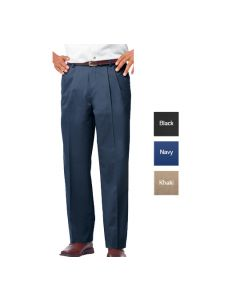 Men's Pleated Pant - Hotel Uniforms