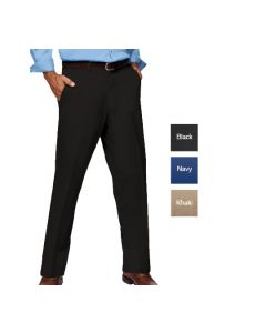 Men's Flat Front Pant - Hotel Uniforms