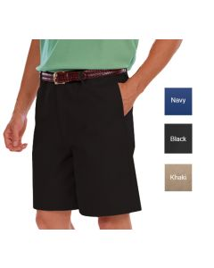 Men's Twill Flat Front Shorts - Hotel Uniforms