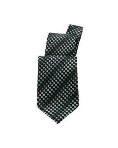 Black Polka Dot Tie - Hotel Uniforms