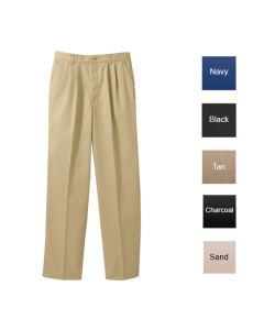 Pleated Chino Pant - Hotel Uniforms