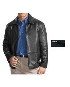 Men's Lambskin Leather Jacket - Hotel Uniforms
