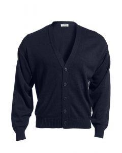 Edwards V-Neck Button Acrylic Cardigan Sweater