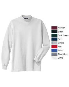 Men's Interlock Knit Mock Turtleneck - Hotel Uniforms