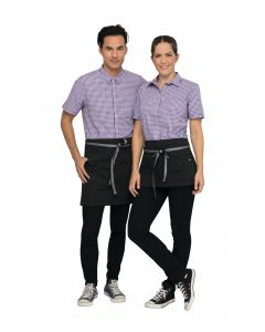 Berkeley Waist Apron: Jet Black - Culinarily Uniforms